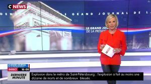 Laurence Ferrari dans le Grand Journal de la Présidentielle - 03/04/17 - 03