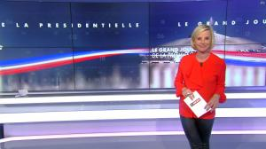 Laurence Ferrari dans le Grand Journal de la Présidentielle - 03/04/17 - 06