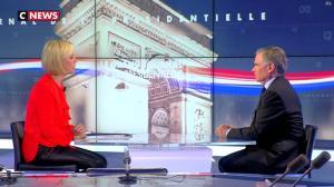 Laurence Ferrari dans le Grand Journal de la Présidentielle - 03/04/17 - 07