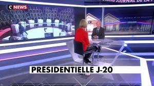 Laurence Ferrari dans le Grand Journal de la Présidentielle - 03/04/17 - 08