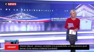 Laurence Ferrari dans le Grand Journal de la Présidentielle - 18/04/17 - 02