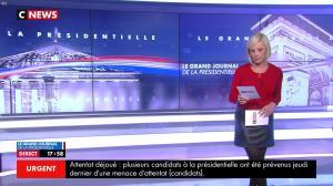 Laurence Ferrari dans le Grand Journal de la Présidentielle - 18/04/17 - 03