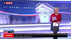 Laurence Ferrari dans le Grand Journal de la Présidentielle - 18/04/17 - 09