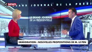 Laurence Ferrari dans le Grand Journal de la Présidentielle - 18/04/17 - 28
