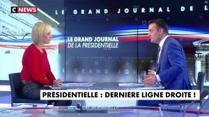 Laurence Ferrari dans le Grand Journal de la Présidentielle - 18/04/17 - 33