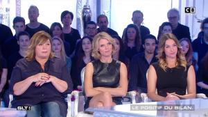 Sylvie Tellier dans Salut les Terriens - 15/04/17 - 12