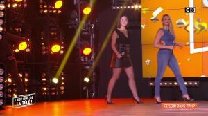 Agathe Auproux et Kelly Vedovelli dans Intro de Touche pas à mon Poste - 02/02/18 - 01
