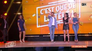 Agathe Auproux et Kelly Vedovelli dans Intro de Touche pas à mon Poste - 02/02/18 - 02