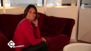 Alessandra Sublet dans C à Vous - 25/12/17 - 04