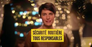 Alessandra Sublet dans Spot pour la Sécurité Routière - 26/12/17 - 02