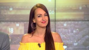 Alexandra Blanc à la Météo du Matin - 11/04/18 - 01