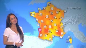 Alexandra Blanc à la Météo du Matin - 18/04/18 - 01