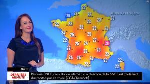 Alexandra Blanc à la Météo du Matin - 23/05/18 - 02