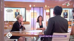 Anne-Elisabeth Lemoine dans C à Vous - 17/05/18 - 01
