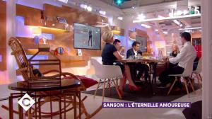 Anne-Elisabeth Lemoine dans C à Vous - 21/03/18 - 03