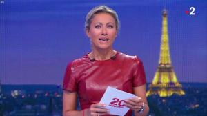 Anne-Sophie Lapix au 20h - 29/08/18 - 08