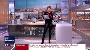 Benedicte Le Chatelier dans le Brunch - 06/01/18 - 02