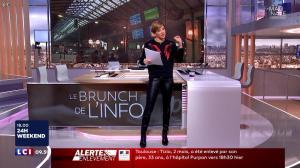Benedicte Le Chatelier dans le Brunch - 06/01/18 - 03