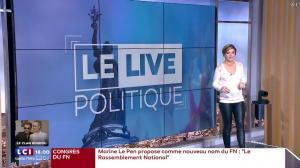 Benedicte Le Chatelier dans le Live Politique - 11/03/18 - 02