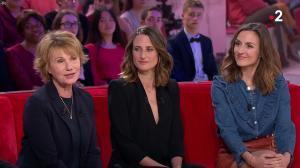 Camille Chamoux dans Vivement Dimanche - 08/04/18 - 02