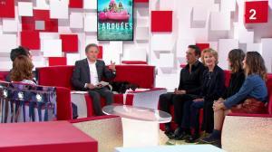 Camille Chamoux dans Vivement Dimanche - 08/04/18 - 04