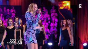 Camille Lou dans 300 Chœurs - 24/11/17 - 08