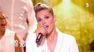 Camille Lou dans 300 Chœurs Chantent - 20/04/18 - 03