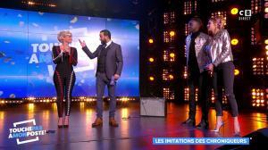 Camille Lou et Kelly Vedovelli dans Touche pas à mon Poste - 20/11/17 - 16