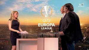 Carine Galli lors de la Soirée de l'Europa League - 05/04/18 - 01