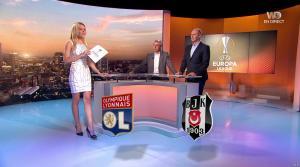 Carine Galli lors de la Soirée de l'Europa League - 13/04/17 - 01
