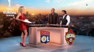 Carine Galli lors de la Soiréee de l'Europa League - 15/03/18 - 03