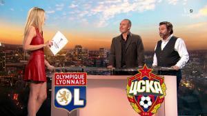 Carine Galli lors de la Soiréee de l'Europa League - 15/03/18 - 04