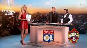 Carine Galli lors de la Soiréee de l'Europa League - 15/03/18 - 07