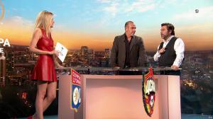 Carine Galli lors de la Soiréee de l'Europa League - 15/03/18 - 08