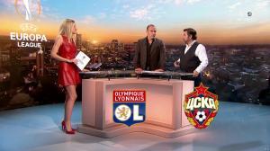 Carine Galli lors de la Soiréee de l'Europa League - 15/03/18 - 09