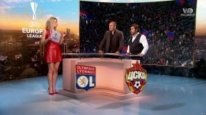 Carine Galli lors de la Soiréee de l'Europa League - 15/03/18 - 11