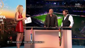 Carine Galli lors de la Soiréee de l'Europa League - 15/03/18 - 14