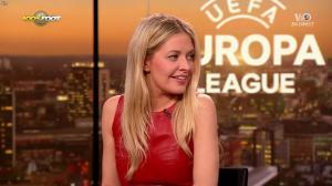 Carine Galli lors de la Soiréee de l'Europa League - 15/03/18 - 22