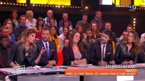 Caroline Ithurbide et Magali Berdah dans c'est Que de la Télé - 21/02/18 - 04