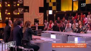 Caroline Ithurbide et Magali Berdah dans c'est Que de la Télé - 21/02/18 - 07