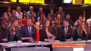 Caroline Ithurbide et Magali Berdah dans c'est Que de la Télé - 21/02/18 - 08