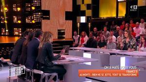 Caroline Ithurbide et Magali Berdah dans c'est Que de la Télé - 21/02/18 - 09