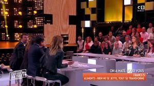 Caroline Ithurbide et Magali Berdah dans c'est Que de la Télé - 21/02/18 - 11