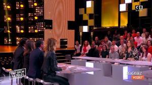 Caroline Ithurbide et Magali Berdah dans c'est Que de la Télé - 21/02/18 - 12