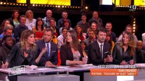Caroline Ithurbide et Magali Berdah dans c'est Que de la Télé - 21/02/18 - 13