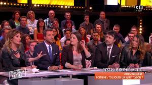 Caroline Ithurbide et Magali Berdah dans c'est Que de la Télé - 21/02/18 - 14