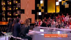 Caroline Ithurbide et Magali Berdah dans c'est Que de la Télé - 21/02/18 - 15