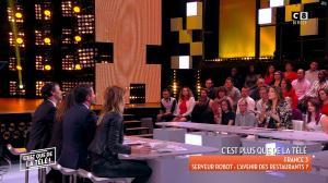 Caroline Ithurbide et Magali Berdah dans c'est Que de la Télé - 21/02/18 - 16
