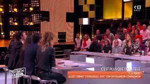 Caroline Ithurbide et Magali Berdah dans c'est Que de la Télé - 21/02/18 - 17