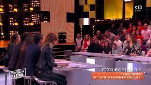 Caroline Ithurbide et Magali Berdah dans c'est Que de la Télé - 21/02/18 - 19